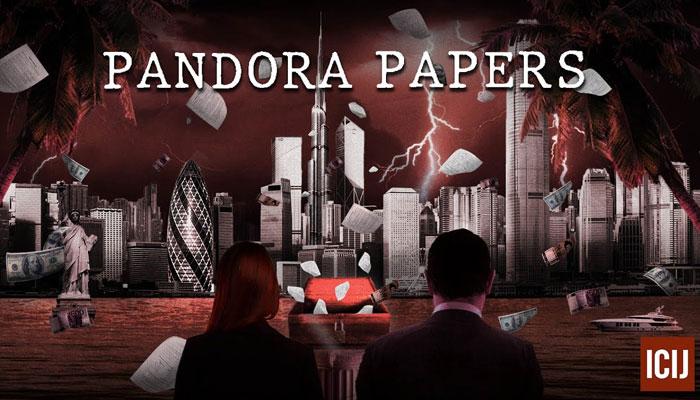 A representative image of Pandora Papers.