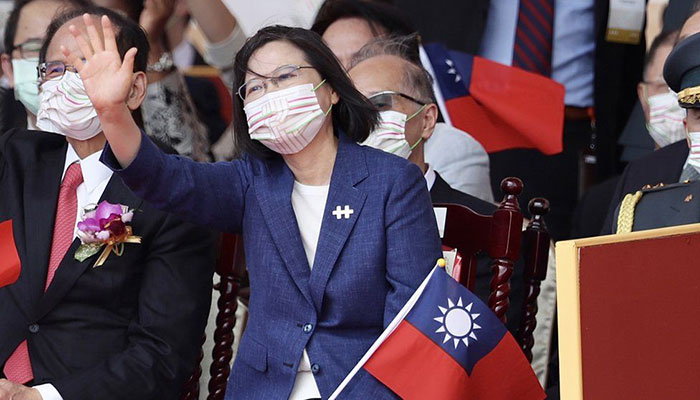 Taiwan won't bow to Beijing's pressure, says president