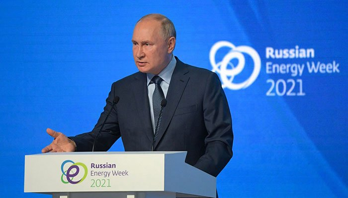 Putin says Russia aiming for carbon neutrality by 2060