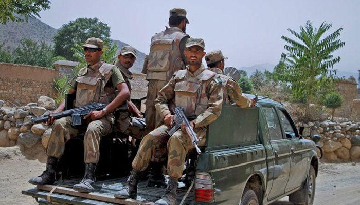 Security forces gun down wanted terrorist in N Waziristan