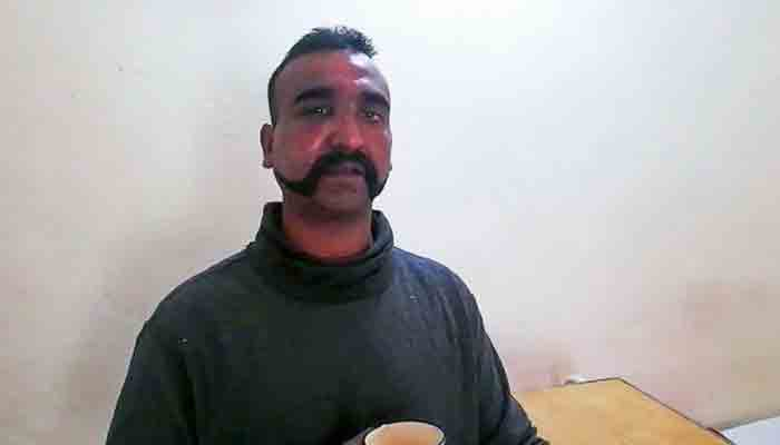 Indian air force pilot Abhinandan Varthaman, who was captured by Pakistani forces in February 2019 after his MiG 29 jet was shot down..