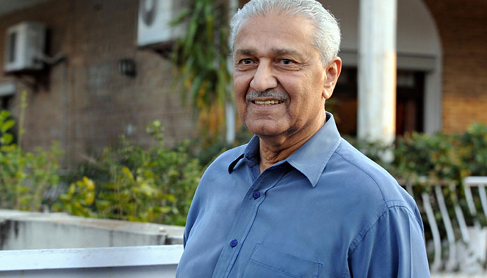 NA acknowledges services of Dr Qadeer