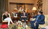 Aggeler meets Gilani in Lahore