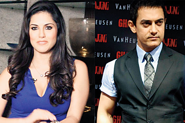 Aamir Khan desires to work with Sunny Leone