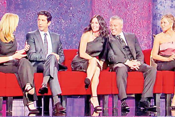 Trailer of the much-awaited Friends reunion released