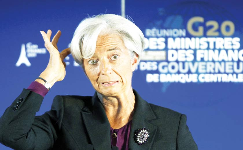 Lagarde urges reform of crises response