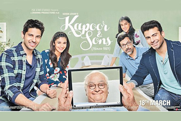 Kapoor and Sons trailer is out