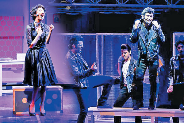 Singer Natasha Humera Ejaz (left) steals the show in the second coming of Grease - The Musical, whereas Ahmad Ali stays committed to his character's defining points and delivers a commendable performance, once again.