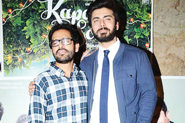 Kapoor & Sons' director made fun of Fawad Khan during shoot