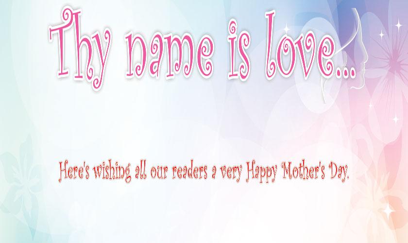 Thy name is love....