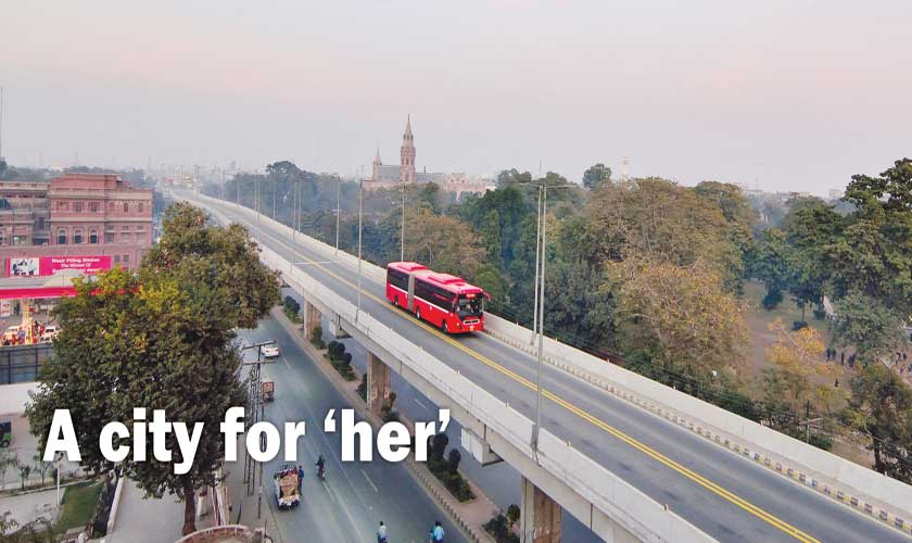 A city for 'her'