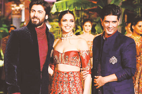 Fawad Khan, Deepika Padukone walk the ramp for Manish Malhotra