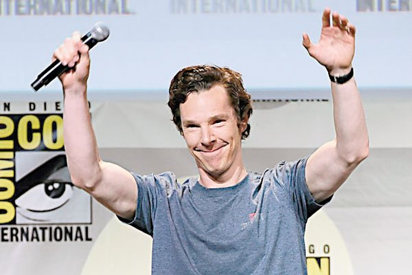 Benedict Cumberbatch's Comic-Con surprise
