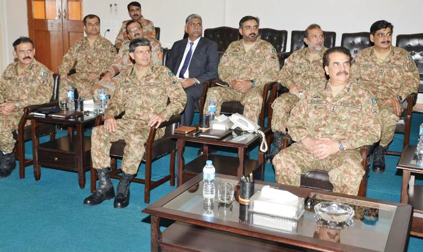 Army, corruption and terrorism