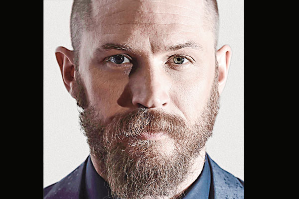 Tom Hardy gears up for new miniseries