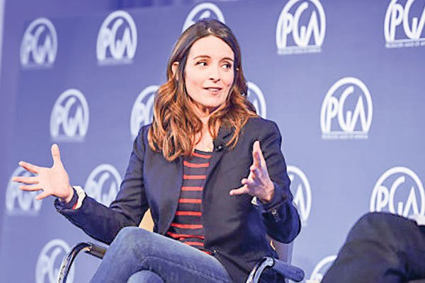Speaking at the conference, Tina Fey defended fellow comedian-host Jimmy Fallon who came under criticism for his handling of Donald Trump during his variety show.