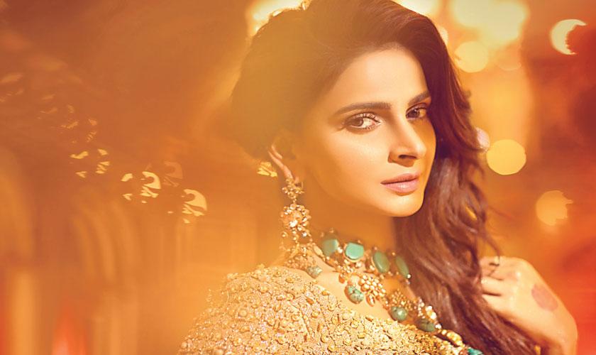 Elegantly embellished & ornately adorned