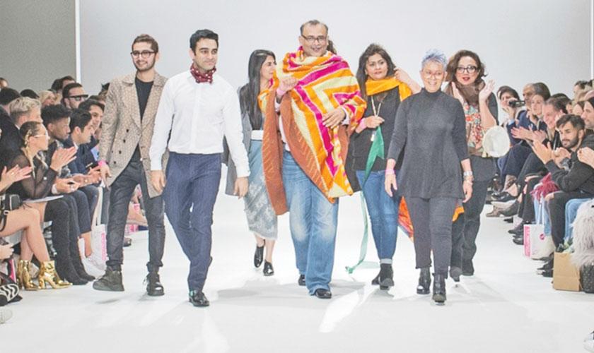 Pakistani designers at DNA, London Fashion Week