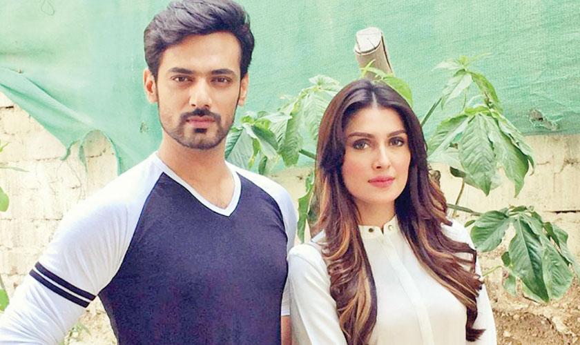 Zahid Ahmed and Ayeza Khan pair up for an upcoming TV play