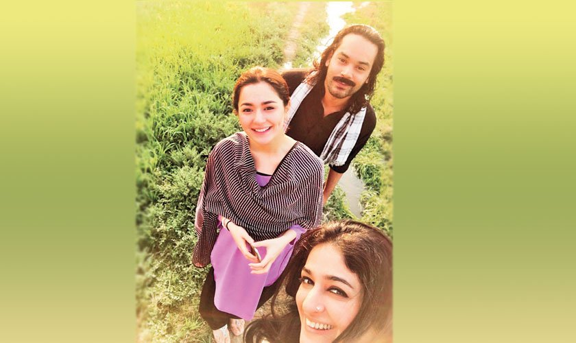 Hania Amir and Gohar Rasheed will be playing the lead pair; Nadia Jamil will be returning to the small screen to play the role of a health worker.