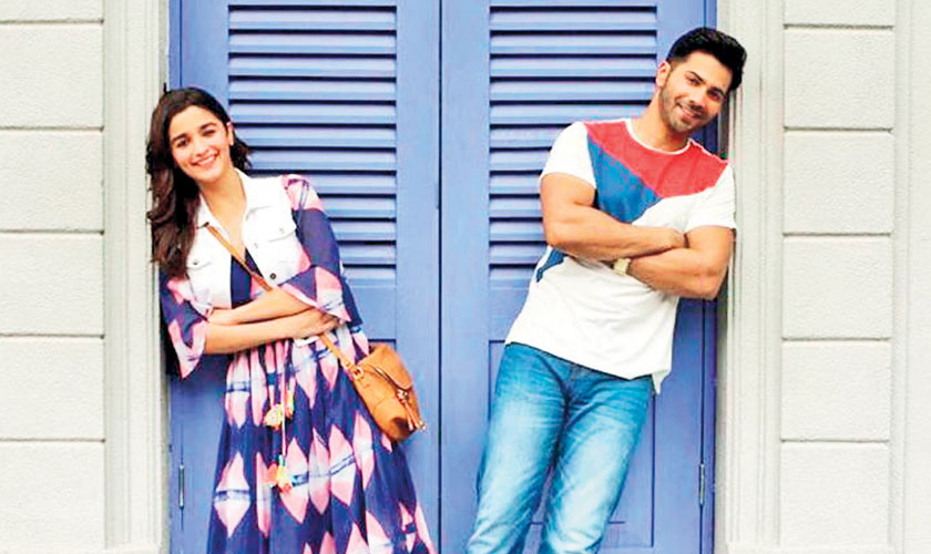 Varun Dhawan's birthday wishes for his Dulhania Alia Bhatt is pretty 'cartoonish'
