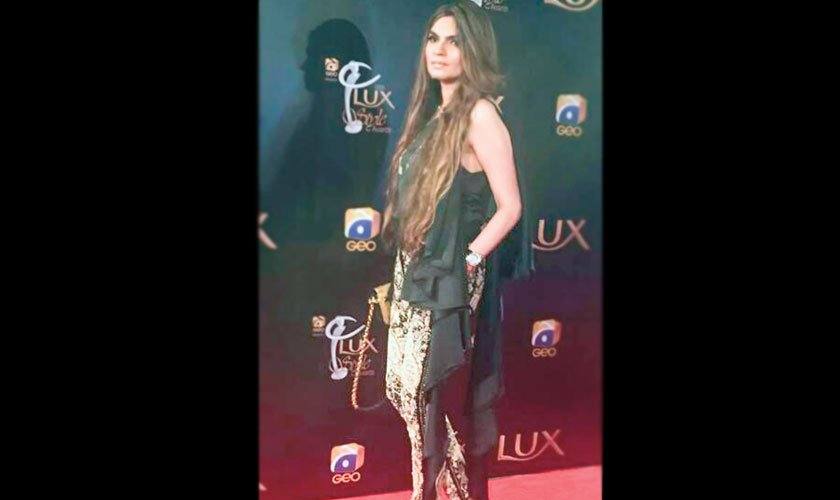Shehla Chatoor, looking as glamorous as ever.