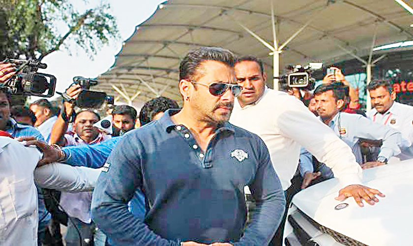 Salman Khan was involved in a hit-and-run case in 2002 where he actually ended up killing a homeless man on the streets.