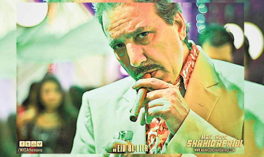 Javed Sheikh in a scene from Main Hoon Shahid Afridi