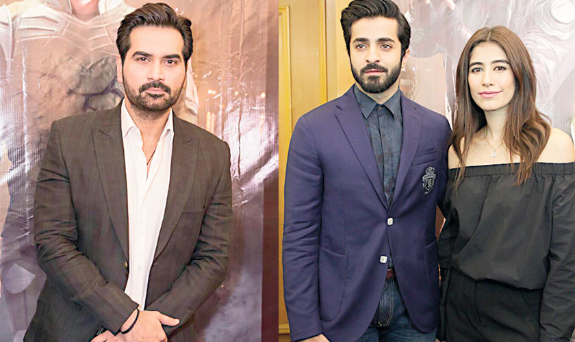 Project Ghazi will see Humayun Saeed and Sheheryar Munawar as the two superheroes while Syra Shahroz will essay the role of a special agent in the film.