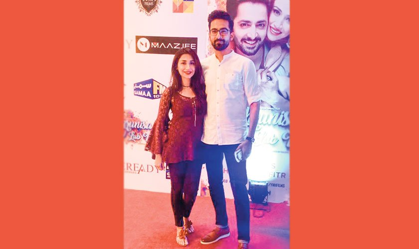 Ali Safina and wife Hira Tareen also attended the film's premiere.