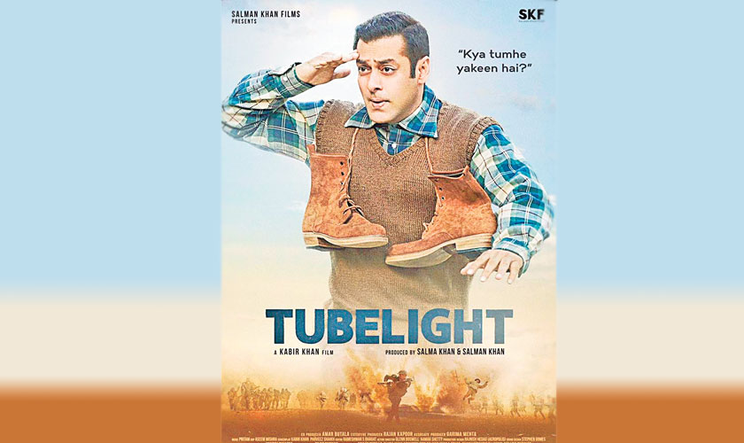 Salman Khan's Tubelight receives negative reviews