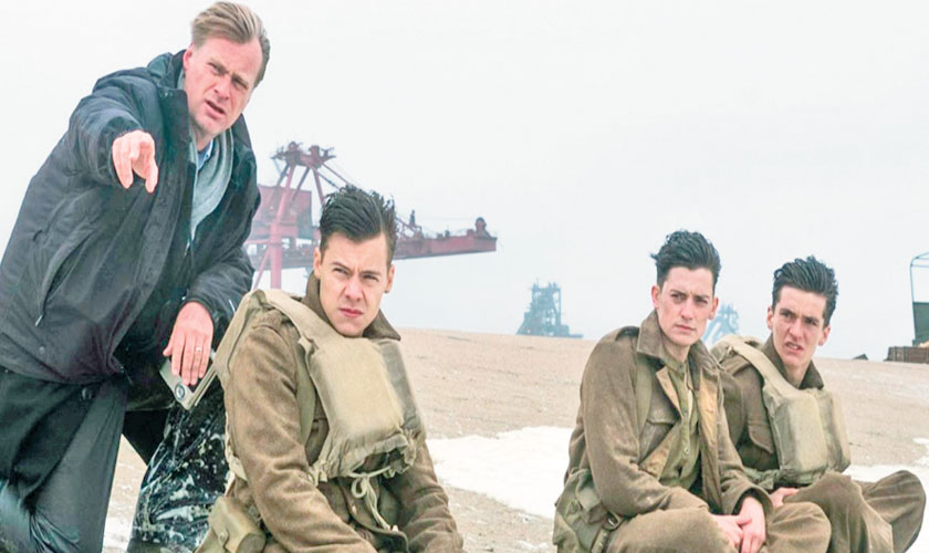 Director Christopher Nolan almost considered shooting Dunkirk without a script.