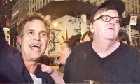 Mark Ruffalo, Michael Moore lead protest outside Trump Tower
