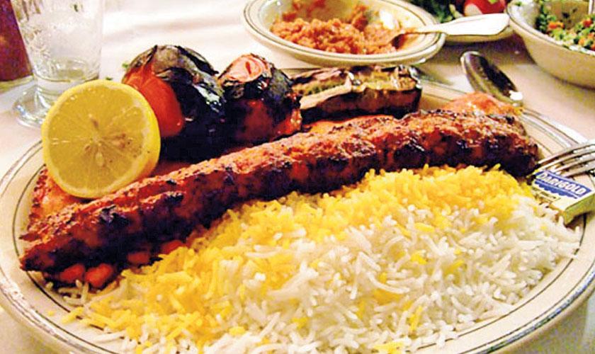 Gulzar S Special Persian Chelo Kabab Rice