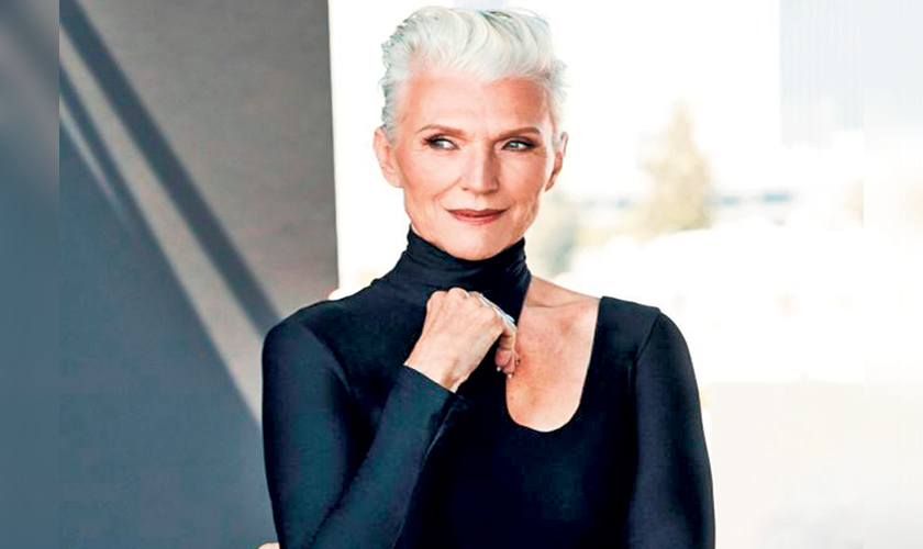 Um, Elon Musk's Badass Model Mom Is the Newest Covergirl at 69-Years-Old