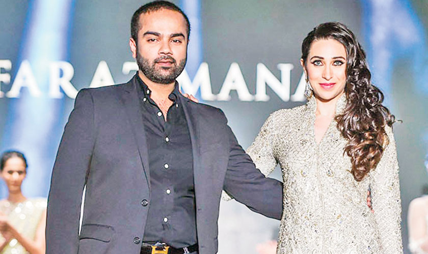 The only Pakistani designer Karisma Kapoor knows