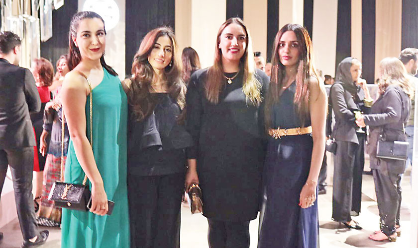 Adding some star value to the gala, Bakhtawar Bhutto Zardari turned up to support Rema Taseer. Council heads Sehyr Saigol and Feri Rawanian also attended the gala evening.