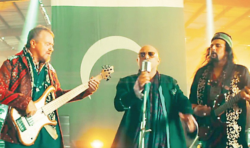 Junoon release music video of 'Khudi'