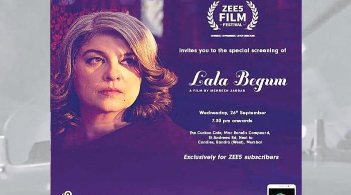 Mehreen Jabbar's Lala Begum to screen at Zee5 Film Festival today