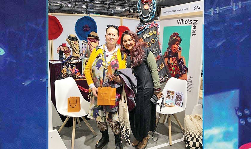 Huma Adnan takes Craft Stories to Paris