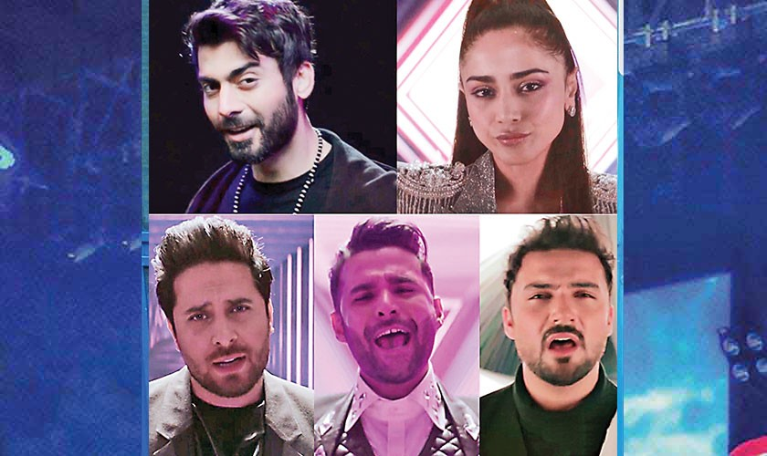 PSL drops 'Khel Ja Dil Se' featuring Fawad Khan, Aima Baig and others