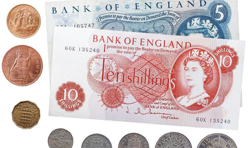 The British pound – the world's oldest currency – is still in use