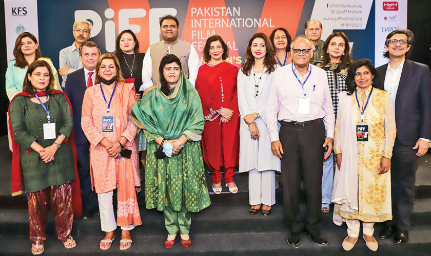 Panellist and guests in attendance on Day 2 of the Pakistan International Film Festival