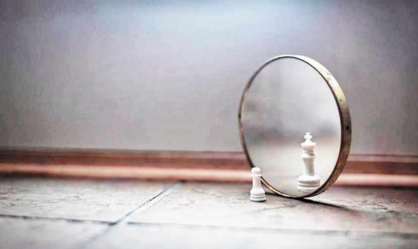 Seeing oneself