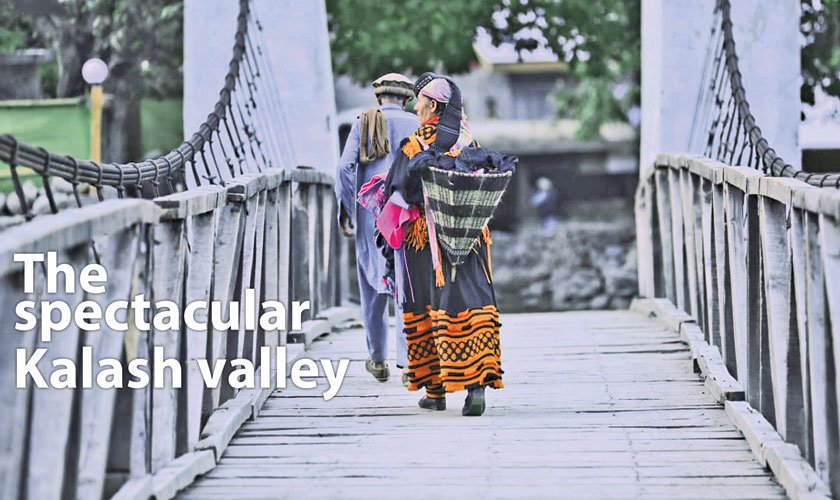 The spectacular Kalash valley
