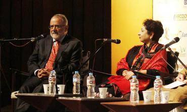 Politics amid literature at LLF