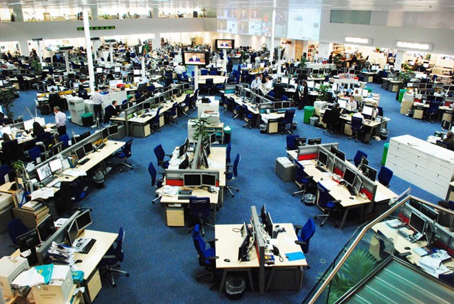 Newsroom is a parallel world