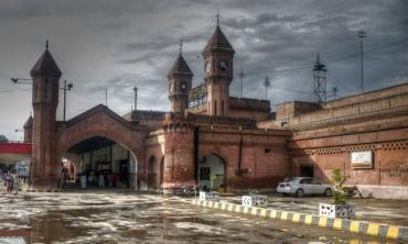 Photofeature: Between the railway lines...