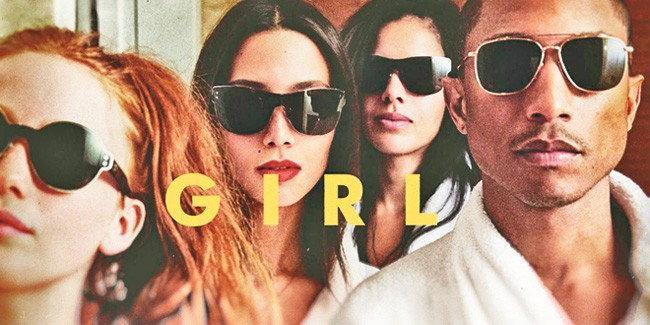 Pharrell gets lucky with G I R L