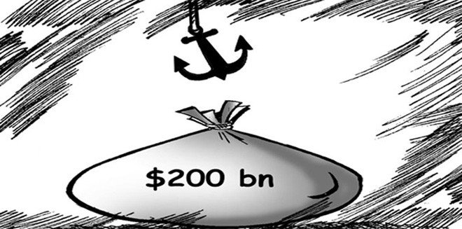 $200 billion manna from Swiss banks